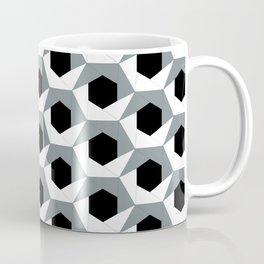 Hex shadow pattern  Coffee Mug