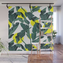 Tropical '17 - Fresh [Banana Leaves] Wall Mural