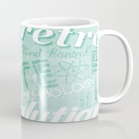 revolution Mugs featuring Revolution by ColbyGreen