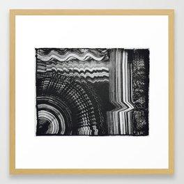 Abstract Pattern Printwork Framed Art Print