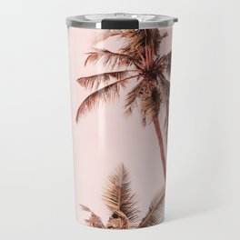 Sunset palms Travel Mug