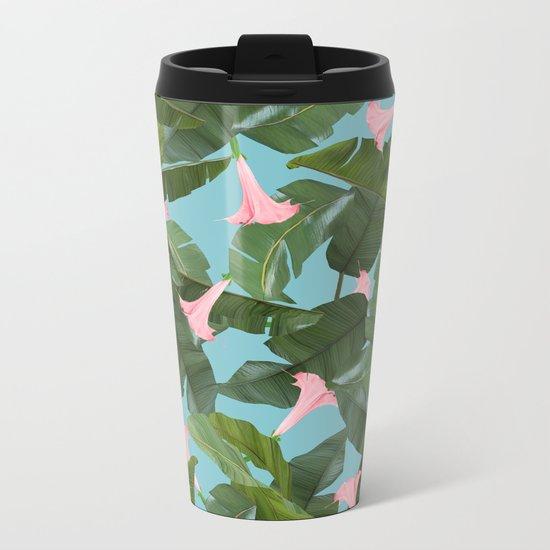 Wild Flower #society6 #decor #buyart Metal Travel Mug