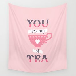 MY CUP OF TEA Wall Tapestry
