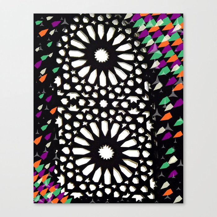 spiritual lights Canvas Print
