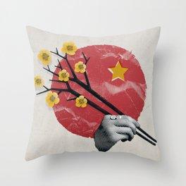 Love Letter to Vietnam Throw Pillow