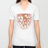 fall V-neck T-shirts featuring Fall by Last Call