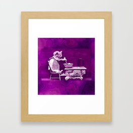 CatCurios 02A Framed Art Print