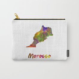Morocco in watercolor Carry-All Pouch