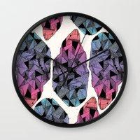 diamond Wall Clocks featuring Diamond by Hamburger Hands