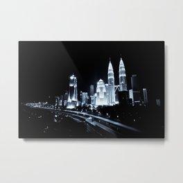 Kuala Lumpur 01 - World Big City Metal Print