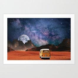 Vanlife Art Print