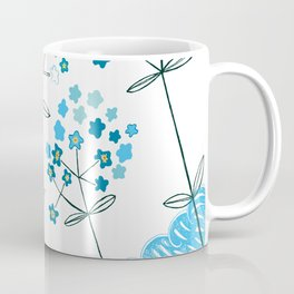 Ladybirds and butterflies and Forget-me-not Coffee Mug