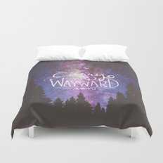 supernatural carry on my wayward son Duvet Cover