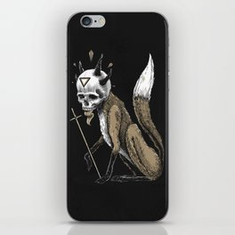 Kitsune Demon Fox iPhone Skin