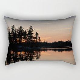 Northern Sunset 002 Rectangular Pillow