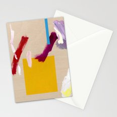 Untitled (Abstract Composition 3) Stationery Cards