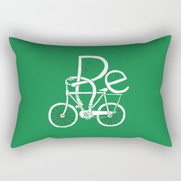 Re-cycling Rectangular Pillow