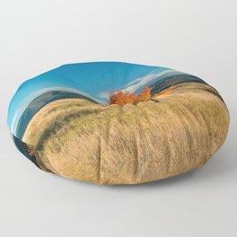 Simple Fall Tree Floor Pillow