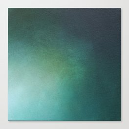 Emerald Sea Light Canvas Print
