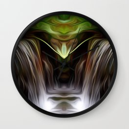 Fountain of Intention Wall Clock
