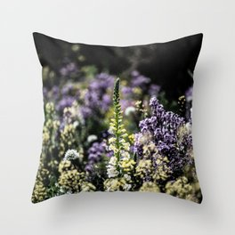 Flower Photography by james shepperdley Throw Pillow