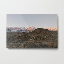 Alabama Hills / Eastern Sierras Metal Print