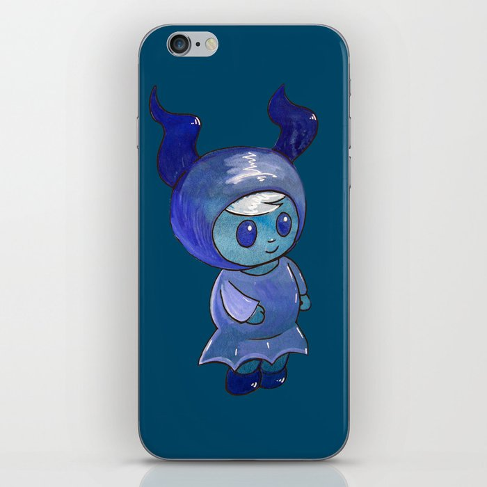 Moonkhin 4 (Iridum Indigo) iPhone Skin