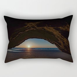 The Mystic Cavern ~ Solana Beach Rectangular Pillow