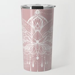 Blush mandala Travel Mug