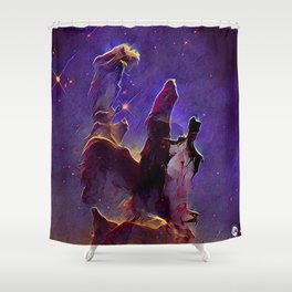 ALTERED Pillars of Creation Shower Curtain
