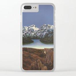 Bears of Denali Clear iPhone Case