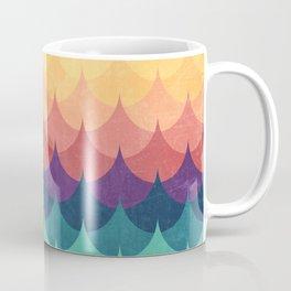 Sailing in Rainbow Waves Coffee Mug