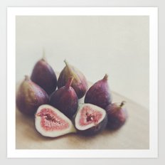 Figs. A Little Figgy Art Print