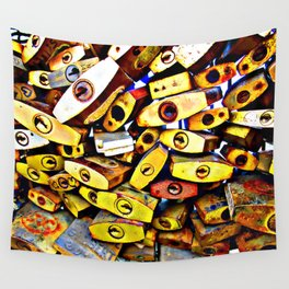 promise padlock Wall Tapestry