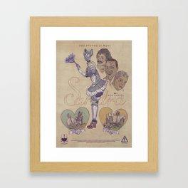 "SANDRA ""Service & Pleasure"" 60s Robota (Front) Framed Art Print"