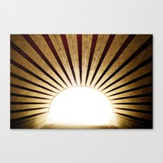 Into the Light Canvas Print