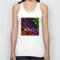 interstellar Tank Tops featuring Interstellar Snake by Distortion Art