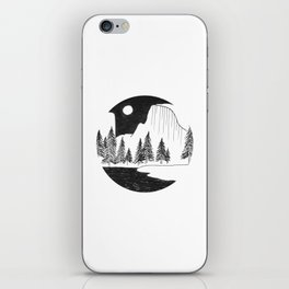 Half Dome Yosemite iPhone Skin