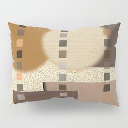 Neutral Abstract Pillow Sham