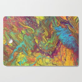 Acrylic Pouring #5 Cutting Board