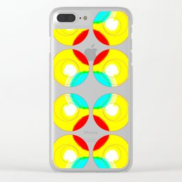 Circling on by.. Clear iPhone Case