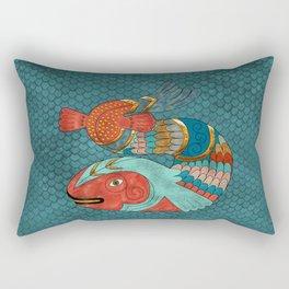 Fish Folk Rectangular Pillow