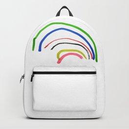 Rainbow sketch Backpack
