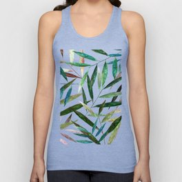 Bamboo Leaves Unisex Tank Top
