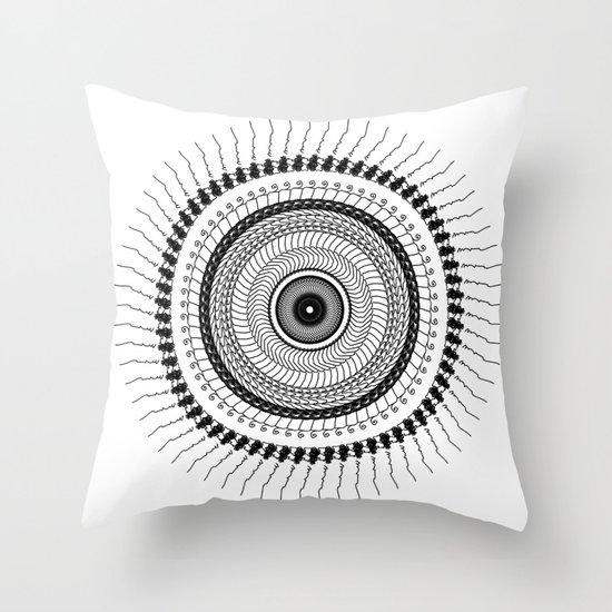 Mandala 01 Throw Pillow