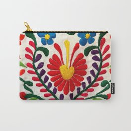 Red Mexican Flower Carry-All Pouch