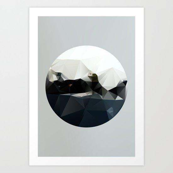 Island at Sea Art Print