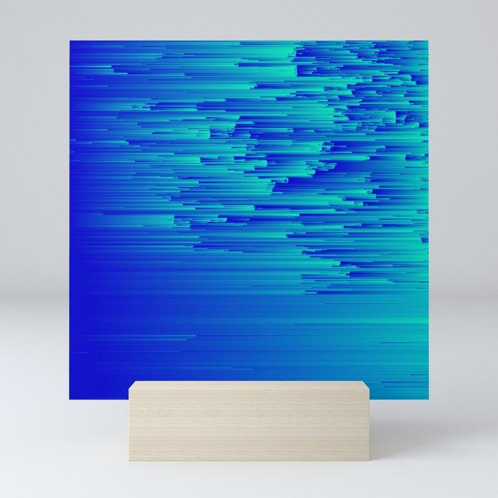 Speed Trap - Pixel Art Mini Art Print