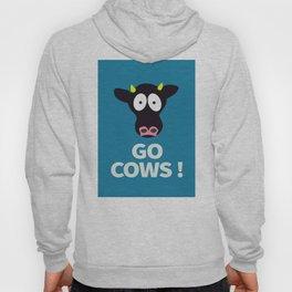 Go Cows Poster Principal's Office Version Hoody