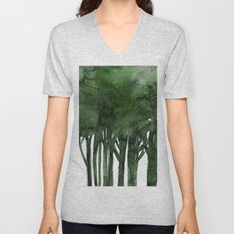 Tree Impressions No.1C by Kathy Morton Stanion Unisex V-Neck